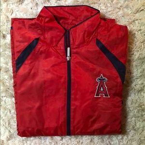Reebok Los Angeles Angels windbreaker NEW